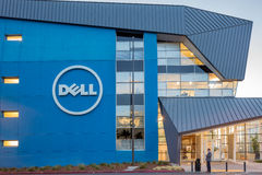 DELL Reasearch and Design Building. SANTA CLARA, CALIFORNIA - NOVEMBER 4, 2015:  In an effort to increase its influence in the rapidly changing tech industry Royalty Free Stock Photos