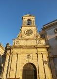 Dell& x27 Torre; Orologio в улице Vittorio Emanuele II Galatina, Apulia Стоковая Фотография