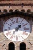 Dell& x27 Torre; Orologio, каменная колокольня в Лукке, Италии Стоковая Фотография RF