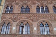 Dell'Ussero de Palazzo, Pisa, Itália Foto de Stock