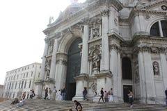 della意大利玛丽亚致敬圣诞老人威尼斯 免版税库存图片