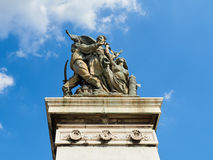 Della anteriore Patria Roma Italia di Altare della statua Immagini Stock Libere da Diritti