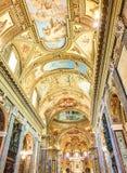 Della Beata Vergine del Ροσάριο Santuario Ιταλία Πομπηία Στοκ εικόνες με δικαίωμα ελεύθερης χρήσης
