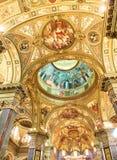 Della Beata Vergine del Rosario di Santuario Pompei, Italia fotografie stock