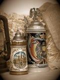 Della birra dello Stein vita ancora Fotografia Stock