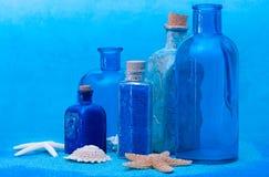 Della bottiglia vita ancora Fotografia Stock Libera da Diritti