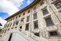 Della Carovana, Πίζα, Ιταλία Cavalieri Palazzo dei πλατειών Στοκ φωτογραφία με δικαίωμα ελεύθερης χρήσης
