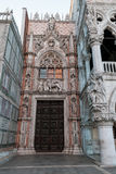 Della Carta de Porta da porta de Carta na praça San Marco Fotos de Stock