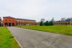 Della Certosa de Cimitero, Ferrara Fotografia de Stock Royalty Free