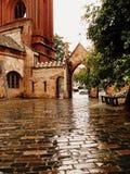 Della chiesa in Lituania fotografie stock