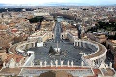 Della Città del Vaticano di Stato Immagini Stock Libere da Diritti