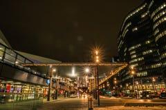 ` Della città di Bahnhof del ` un nuovo distretto a Vienna Immagine Stock