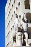 Della Civiltà Italiana, Roma di Palazzo immagine stock libera da diritti