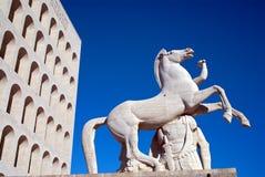 Della Civiltà Italiana, Roma di Palazzo fotografie stock