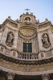 Della Collegiata da basílica, Catania, Sicília, Itália Foto de Stock