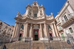 Della Collegiata della basilica Fotografia Stock