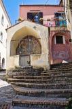 Della Cona d'Edicola. Maratea. Basilicate. L'Italie. Photos libres de droits