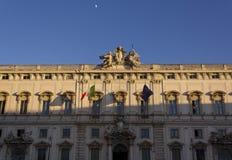 Della Consulta di Palazzo Immagini Stock