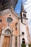 Della Corona Sanctuary - Verona Italy de Madonna Fotografía de archivo libre de regalías