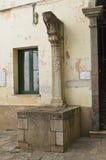 Della Corte di Palazzo. Melfi. La Basilicata. L'Italia. Fotografie Stock Libere da Diritti