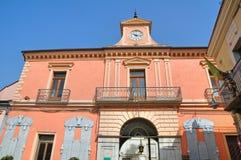 Della Corte di Palazzo. Melfi. La Basilicata. L'Italia. Immagini Stock Libere da Diritti