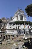 Della d'Altare Patria - Rome Photo libre de droits