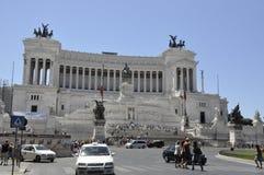 Della d'Altare Patria - Rome Images libres de droits