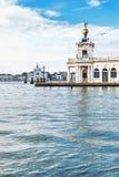 Della Dogane de Punta en Venecia, Italia Imagen de archivo libre de regalías