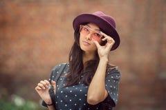 Della donna ritratto asiatico all'aperto Fotografia Stock