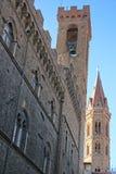 della Florence palazzo piazza signoria vecchio Fotografia Royalty Free