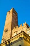 Della Gabbia de Torre dans Mantua Photographie stock libre de droits