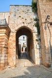 Della Gabella di Porta Conversano La Puglia L'Italia Immagine Stock Libera da Diritti