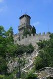 Della Guaita de Castello en San Marino Fotografía de archivo
