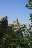 Della Guaita de Castello en San Marino Foto de archivo