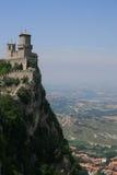 Della Guaita de Castello en San Marino imágenes de archivo libres de regalías