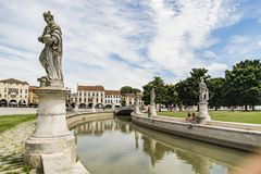 della Italy Padua prato Valle Obrazy Royalty Free