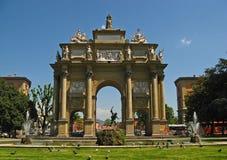 Della Liberta de la plaza Imagen de archivo libre de regalías