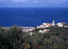 Della Lobra, litorale di Amalfi, Italia del porticciolo. Fotografie Stock Libere da Diritti