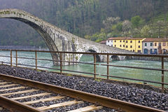 Della Maddalena van Ponte; Stock Fotografie