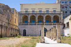 Della Marra palace. Barletta. Puglia. Italy. Royalty Free Stock Photos