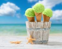 Della menta gelato Fotografia Stock