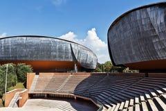 Della Musica de Parco del auditorio Imagenes de archivo