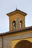 Della Neve Church de Madonna riva Emilia-Romagna Italia Imagen de archivo libre de regalías