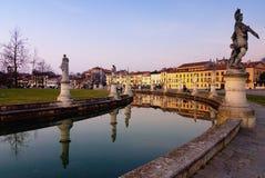 della Padua prato zmierzch Valle Fotografia Royalty Free