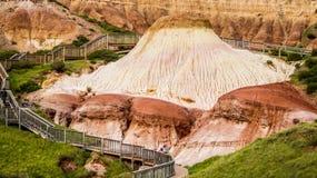 ` Della pagnotta di zucchero del `; Le caratteristiche geologiche uniche di conservazione della baia di Hallet parcheggiano Fotografia Stock