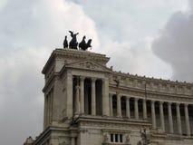 Della Patria της Ρώμης Altare στοκ φωτογραφίες
