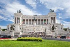 Della Patria Altare στη Ρώμη Στοκ Φωτογραφία