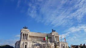 Della Patria Altare, аркада Venezia, Рим Италия стоковые фотографии rf