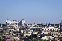 Della Patria Altare городского пейзажа стоковая фотография