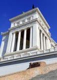Della Patria Altare, памятник построенный для того чтобы удостоить Виктора Emmanuel, Рима стоковое изображение